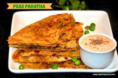 Peas Paratha recipe   Green peas paratha recipe