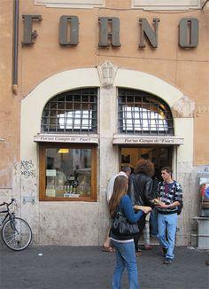 Pizza Forno at Campo de'Fiori