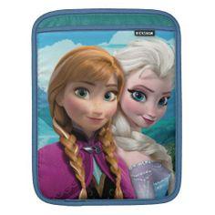 Anna and Elsa iPad Sleeve