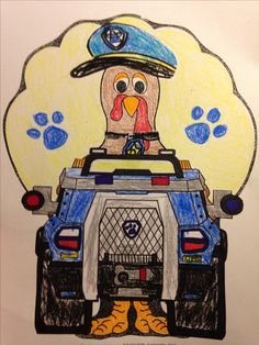 Turkey in Disguise - Paw Patrol's Chase