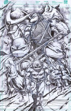 TMNT fans all over show their art work here. See art and drawings of the Teenage Mutant Ninja Turtles from artists/fans. Ninja Turtles Art, Teenage Mutant Ninja Turtles, Tmnt, Comic Books Art, Comic Art, Ninja Turtle Tattoos, Castlevania, Deviant Art, Art Sketchbook