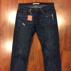 """J Brand distressed cuffed boyfriend jeans NEW! 26 These J Brand jeans are a slouchy, distressed boyfriend style in size 26 (but run big IMO -- refer to measurements). 16"""" across waist, 19"""" across hips, 24.5"""" inseam (when cuffed as shown). NEW!! J Brand Jeans Boyfriend"""