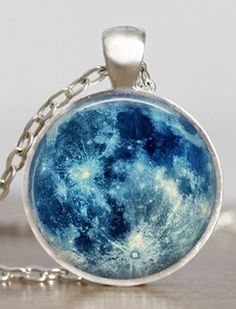 Blue moon necklace                                                                                                                                                     More