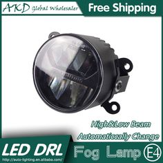 184.54$  Watch here - http://alihq0.worldwells.pw/go.php?t=32788335028 - AKD Car Styling LED Fog Lamp for Nissan Versa DRL Emark Certificate Fog Light High Low Beam Automatic Switching Fast Shipping 184.54$