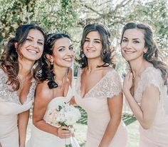 Beautiful bride @hana_eriksson and her sisters 💕 #wedding #weddingphoto #ekensdal @ekensdal Bridesmaid Dresses, Wedding Dresses, Hana, Beautiful Bride, Lace Wedding, Wedding Photos, Sisters, Instagram Posts, Fashion