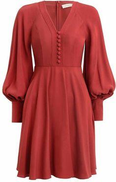 Muslim Fashion, Hijab Fashion, Fashion Dresses, Stylish Dresses, Cute Dresses, Casual Dresses, Sleeves Designs For Dresses, Classy Dress, Chic Outfits
