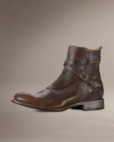 Men's Jayden Crosstrap Boot - Dark Brown
