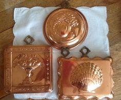 Vintage Hanging Copper Molds