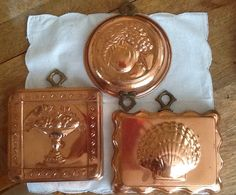 Vintage Hanging Copper Molds
