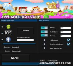 Candy Crush Soda cheats and hack for lives, gold bars, and moves http://appgamecheats.com/candy-crush-soda-tips-cheats-hack-lives-gold-bars-moves/