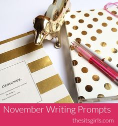 Struggling to come up with blog content? Check out our 30 days of writing prompts for November. It's the perfect list to get you inspired to write.