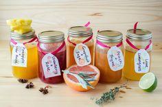 5 Easy Homemade Soda Syrups via @theflavorbender