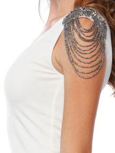 Beaded shoulder