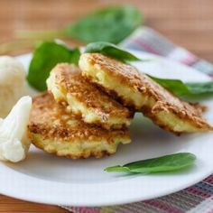 Crisp Lentil & Onion Fritters from Cookspiration by DietitiansCAN Queso Cheddar, B Recipe, Puffer, Diabetic Friendly, Greek Recipes, Different Recipes, Fritters, Beignets, Salmon Burgers