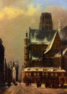 Winters stads gezicht Rotterdam 1995-1941