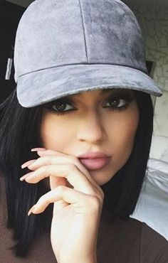 Kylie Jenner Charcoal Hat