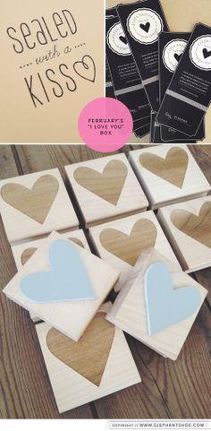 "February 2014 {I HEART YOU} ""I LOVE YOU Box"