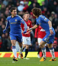 Eden Hazard  -  David Luiz (MY FAVORITES)