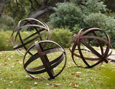 Rusted Iron Spheres
