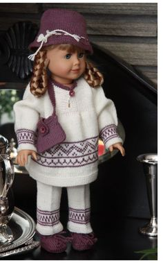 """0037 Kirsten - lovely """"gåbort costume"""" - Tunica (dress), trousers, hat, shoes (socks) and a small bag .."""