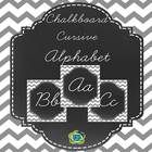 This++chalkboard+background+cursive+alphabet+pack+is+elegant+and+includes+cards+in+8x10+and+5x7+size. ...