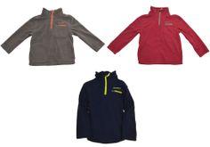 Eddie Bauer Boys 1/4 Zip Fleece Jacket 5 8 7 Long Sleeve Pullover Coat NEW #EddieBauer #Pullover #Dressy