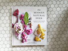 Creative Genius: Natural Dying With Kristine Vejar >> http://blog.diynetwork.com/maderemade/2015/10/23/creative-genius-the-modern-natural-dyer-kristine-vejar/?soc=pinterest