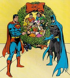 Happy Holidays from DC Comics