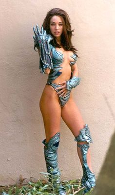 Witchblade cosplay...whoa. Only she could pull that off.