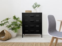 Functional & modern, the Axel Locka 4 Drawer metal cabinet is affordably priced, comes in two colours and is ideal for storage in a home or office space. Metal Storage Cabinets, Cabinet Storage, Home Furniture, Modern Furniture, Clever Kitchen Storage, Affordable Storage, Timber House, Drawer Unit, Drawers