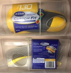 Insoles and Shoe Inserts: Dr. Scholl S Custom Fit Cf130 Orthotic Inserts - 1 Pair Nib -> BUY IT NOW ONLY: $44.95 on eBay!