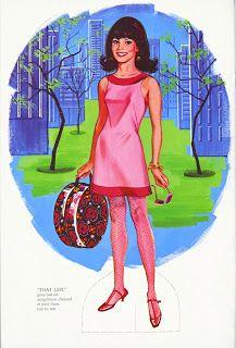 Bonecas de Papel: That Girl