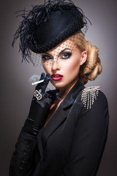 Photographer: Sergey Ivanchenko Hair, makeup & Styling: Olga Voynikova, Model: Polina Gurkovskaya