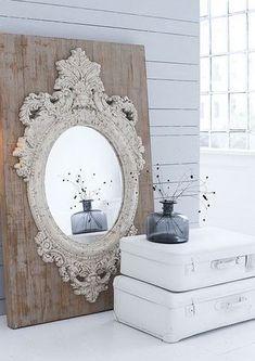 Sfeerplaatje stoere spiegel