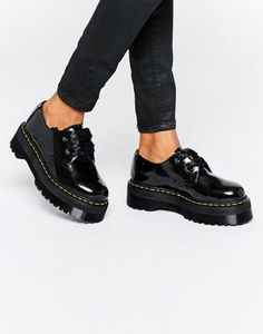 Dr Martens Holly Ribbon Flatform Shoes