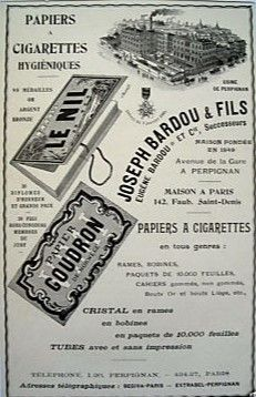 Le Nil Papier à cigarettes Joseph, Le Nil, Kenya, Portraits, Posters, Personalized Items, Vintage, Cigars, Smoking