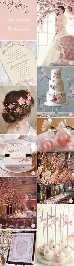 A flor de cerejeira, conhecida também como sakura e cherry blossom, rende uma linda decoração para a festa de 15 anos. Veja inspirações e referências.