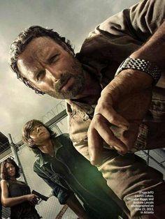 The Walking Dead. Season 4 promo poster.