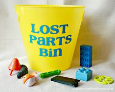 Lost Parts Bin!  Cre