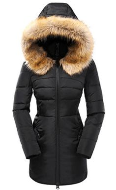 Valuker Women's Down Coat with Fur Hood with Down Parka Puffer Jacket for women winter for women winter coats women coats women casual winter coats for women coats for women coats winter coats women chic for women winter fashion coats for women winter# Down Parka, Parka Coat, Down Coat, Men's Coats And Jackets, Puffer Jackets, Winter Jackets Women, Coats For Women, Best Parka, Women's Coats