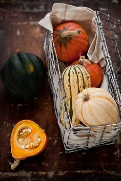 Autumn Squash Cooking by tartelette, via Flickr