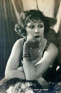 """""""Norma Talmadge must be a fine, noble woman beyond her loveliness. They must compel her to play foolish roles. Norma Talmadge, Scott Fitzgerald, Divas, Entertaining, Actresses, Actors, Movies, Beauty, Vintage"""