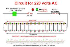 Image result for 1w 25 led lights driver circuit