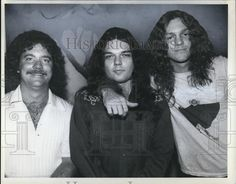 ~ Details about 1978 Press Photo Billy Powell Gary Rossington Allen Collins