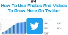 In this article i have talked about how to use photos and videos and other media files to grow more on twitter,how to find contents,how much contents should be tweeted daily,how to use branded photos etc. How To Know, Need To Know, You Can Do, Told You So, About Twitter, Watch Photo, Free Website, Business Branding, Cover Photos