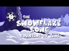 Teacher Tipster (Count by 10s - Snowflake Song) - I will share this will teachers of younger students.