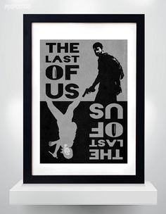 The Last of Us Poster The Last of Us 2color poster by MixPosters, $18.00