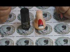 Técnicas de Nail Art- Nail Art de Natal II