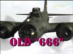 """▶ OLD """" 666"""" - WWII USAF pilot Jay Zeamer & his """"renegade"""" aircrew rescued this old Boeing B-17E(""""666""""-an abbreviation of the tail number & it also had a reputation for getting """"Shot to Hell"""" on every mission) from the scrapheap.They """"hot rodded"""" it with extra large caliber cannons...an amazing story. http://www.youtube.com/watch?v=6Im086TCu3I&feature=player_embedded#t=23"""