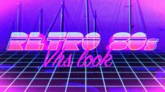 In this tutorial, Kris Truini demonstrates how to create a retro style intro or outro inspired by the neon cheesy trippy Miami Vice look from the 80s.